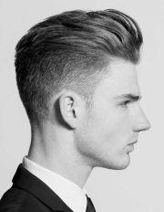 mens short hair slight fade perfect