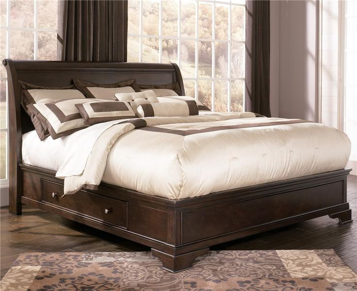 Leighton King Platform Bed With Underbed Storage By Ashley