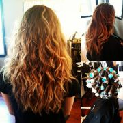 loose wave perm hair laini