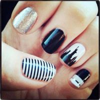 17 Best ideas about City Nails on Pinterest | Nail designs ...