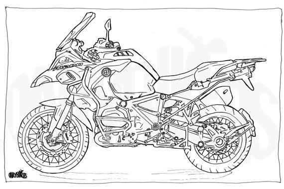 17 Best images about Motorcycle illustrations on Pinterest