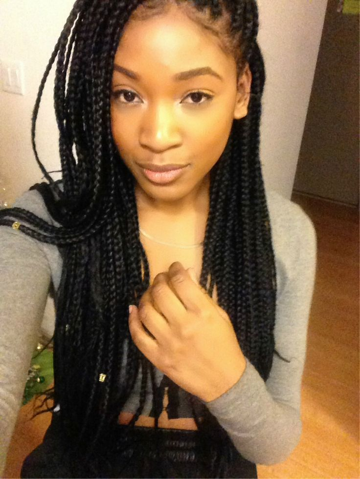 136 Best Images About Box Braids On Pinterest Protective Styles