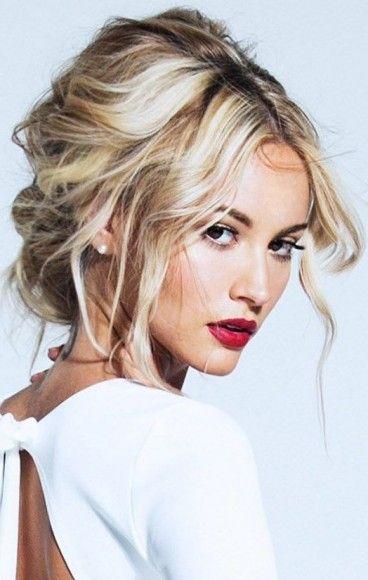 25 Best Ideas About Messy Wedding Hair On Pinterest Ball Hair