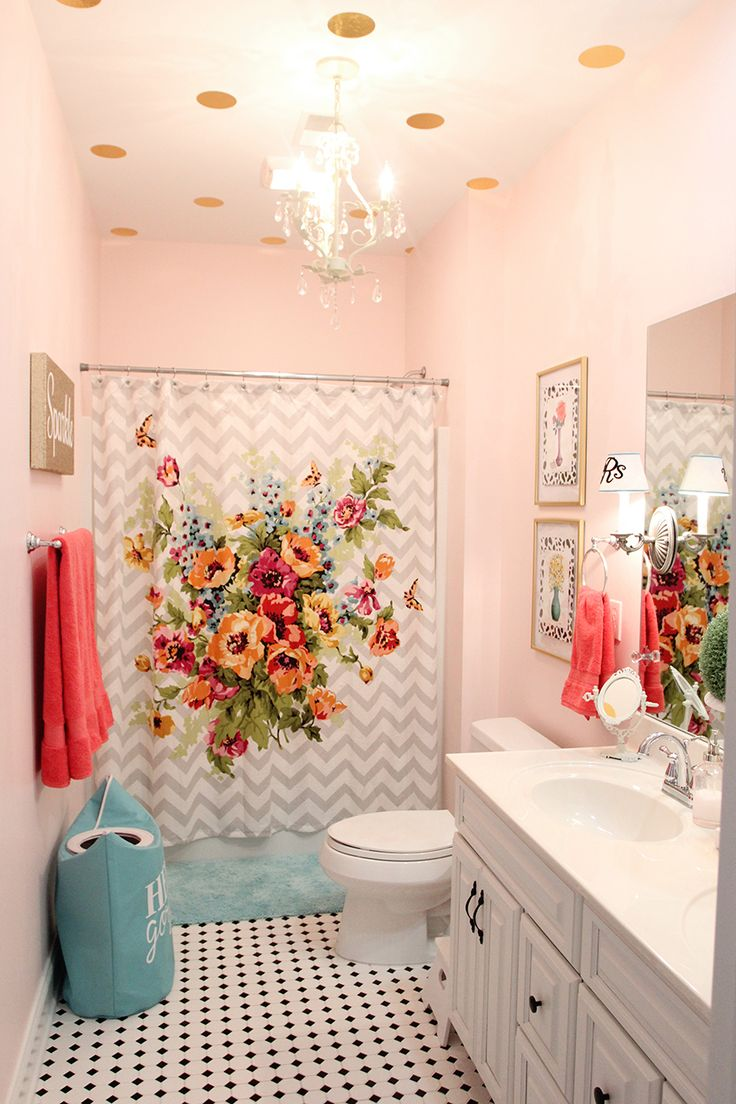 25 best ideas about Little girl bathrooms on Pinterest  Mermaid girls rooms Mermaid room