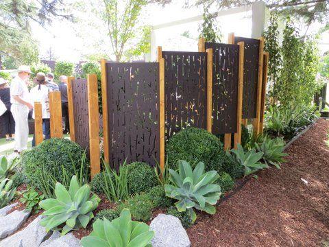 Garden Screen Out Deco Garden Feature Pinterest Gardens