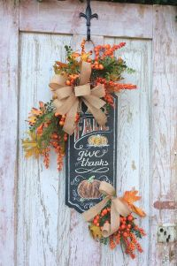 25+ best ideas about Fall swags on Pinterest ...