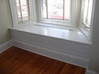 bay window bench idea--make it hollow with a lift-up bench ...