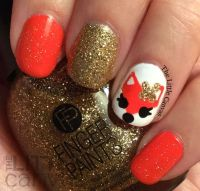17 Best ideas about Fox Nails on Pinterest | Animal nail ...