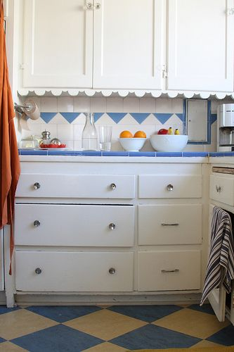cheap backsplash for kitchen fruit basket 17 best images about 1940s retro kitchens on pinterest ...