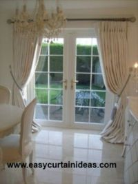 Curtain idea for French doors | Curtains | Pinterest ...