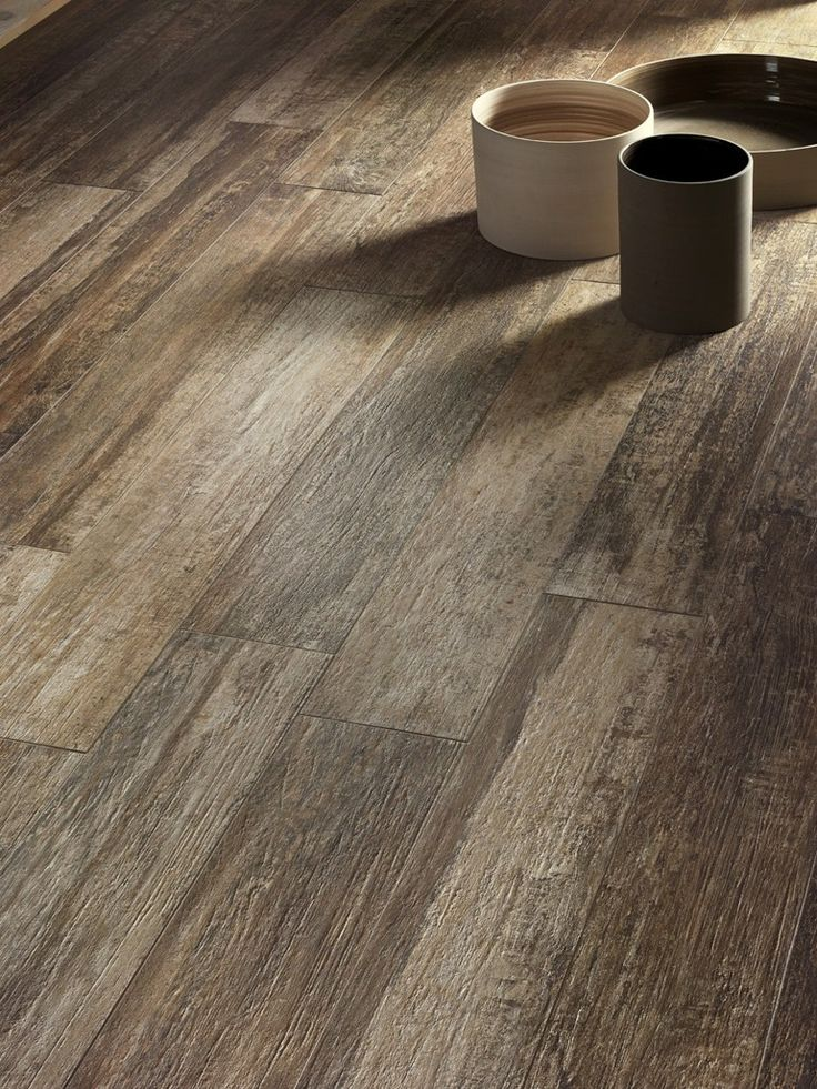 PORCELAIN STONEWARE FLOORING WITH WOOD EFFECT CORTEX  CERAMICA SANTAGOSTINO  Flooring