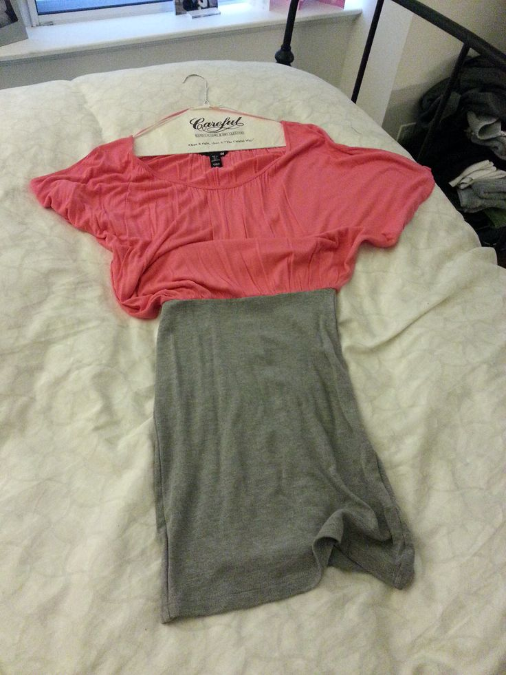HM cotton bar dress Loose top tight bottom Worn once