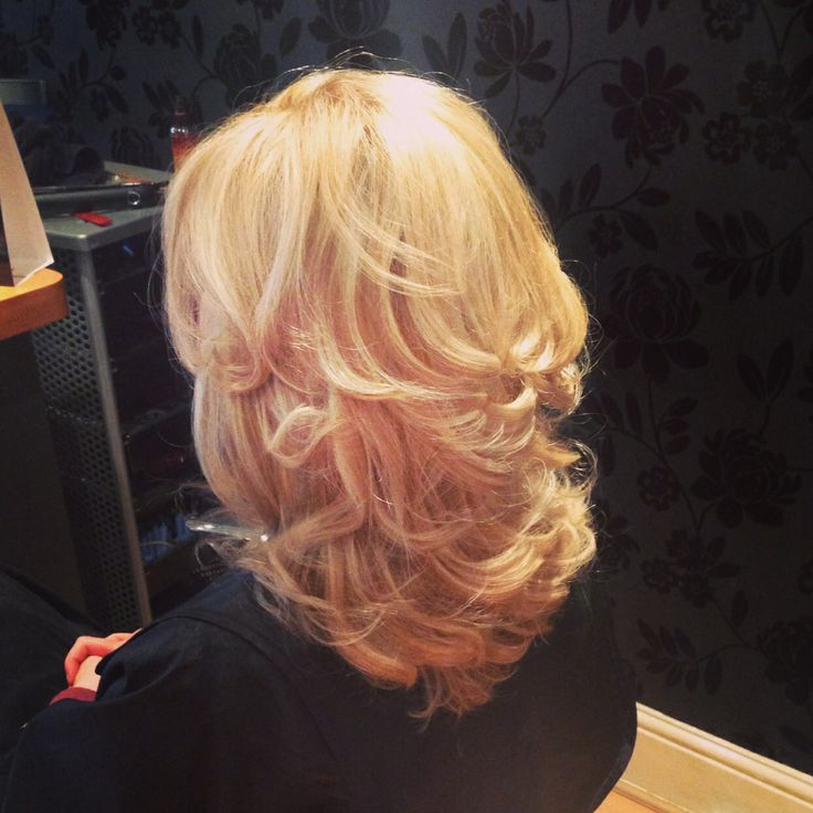 31 Best images about Curly blowdry on Pinterest  Long