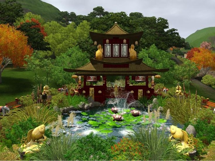 12 Best Images About Sims 3 Garden Ideas On Pinterest Gardens