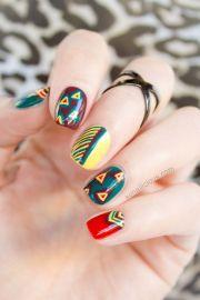 tribal nails