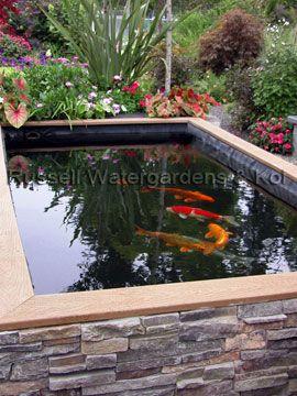 25 Best Ideas About Raised Pond On Pinterest Koi Pond Design