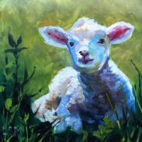 1000+ images about Lamb & Sheep Art on Pinterest ...