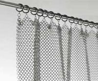amazing chainmail curtain! Stainless Steel Fireplace ...