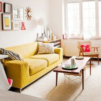 25+ best ideas about Yellow couch on Pinterest