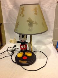 Mickey Mouse Animated Lamp | Mickey Mouse Collectibles ...