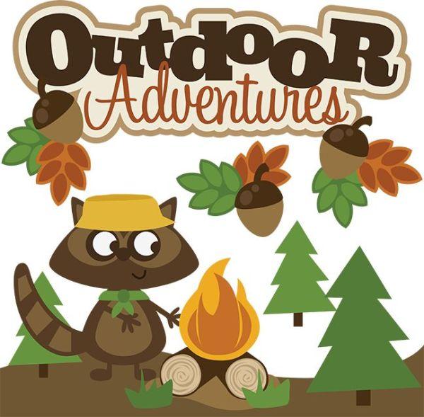 outdoor adventures svg scrapbook