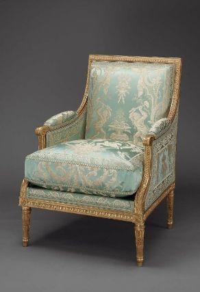 Bergere Armchair by JeanBaptisteClaudeSene French