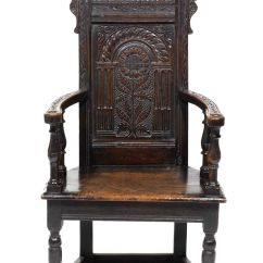 Early American Chair Styles Desk Arm Pads This Is Called A Caquetoire. The French Renaissance Period Characteristically Sits ...