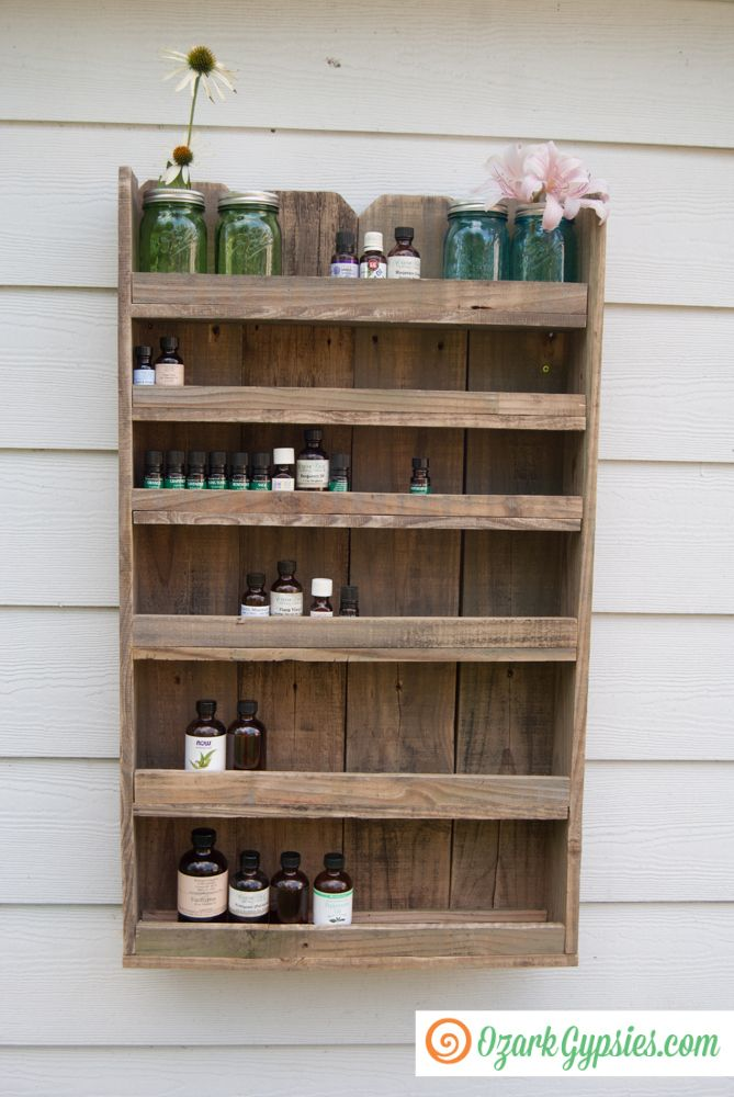 1000 ideas about Essential Oil Storage on Pinterest