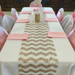 High Chair Tutu Folding Kuwait Pearl Ball Table Centerpiece Pink & Gold Glitter Pearls Baby Shower | It's A Girl!! ...