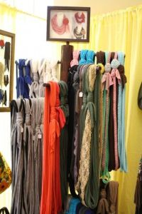 25+ best ideas about Scarf display on Pinterest ...