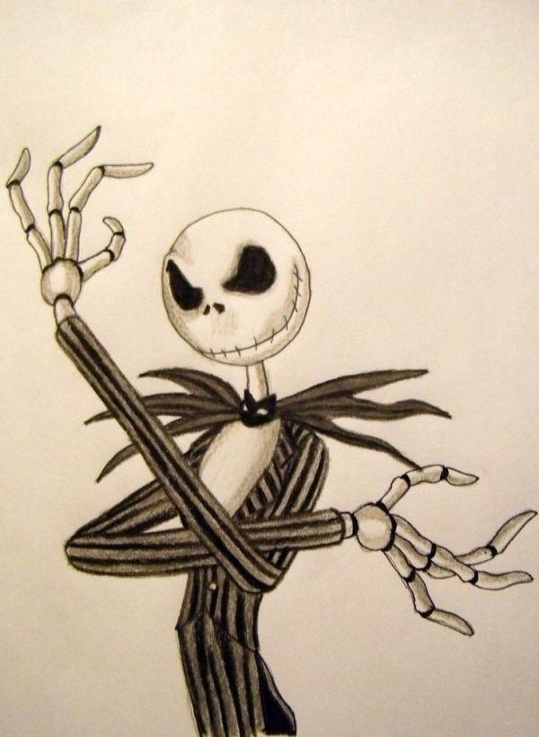 Awesome Disney Paintings Drawings Nightmare before