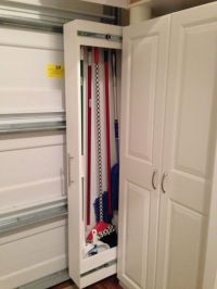 pull out broom closet - Google Search | Laundry ideas ...