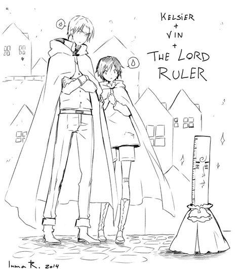 ミストボーン】らくがき」/「インマR.」の漫画 [pixiv] / THE LORD RULER