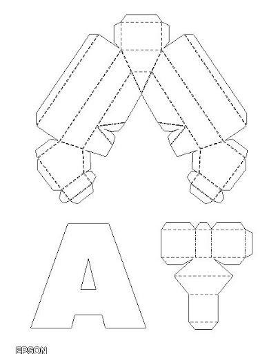 3d papercraft elsa template