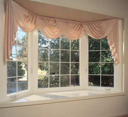 25+ best ideas about Bow Window Curtains on Pinterest