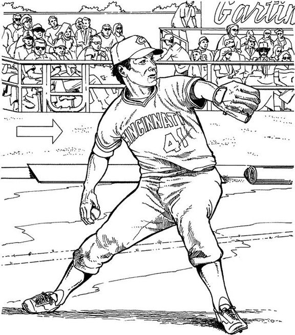 20 best images about Baseball coloring pages on Pinterest