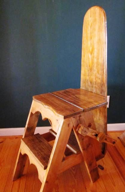 wooden step stool chair baby swing argos ironing board plans - woodworking projects &