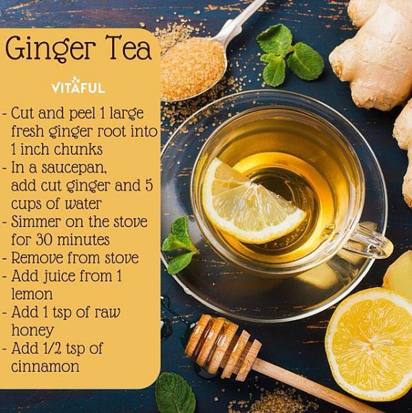 Best 25 Ginger Tea Ideas On Pinterest
