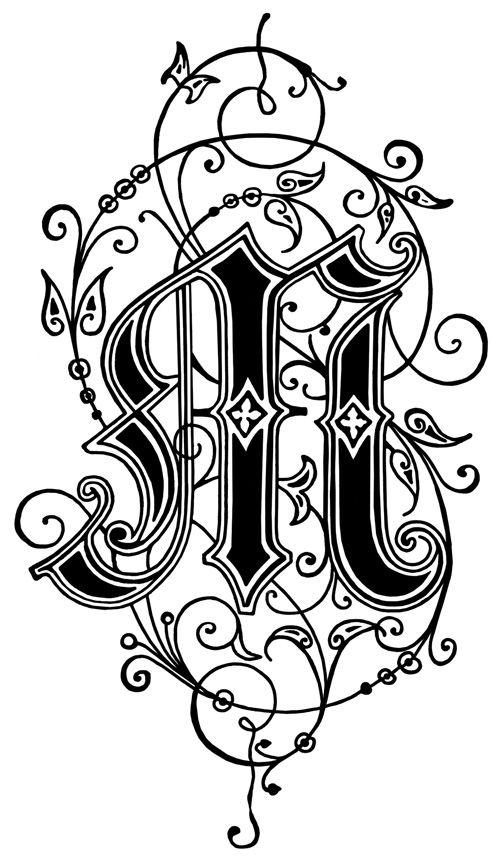 25+ Best Ideas about Monogram Initials on Pinterest