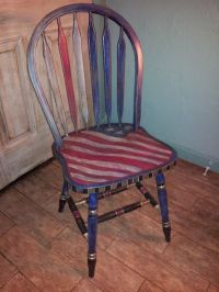 8 Best images about red white and blue chair on Pinterest ...