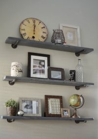 1000+ ideas about Galvanized Pipe Shelves on Pinterest ...