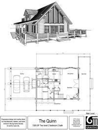 Best 25+ Log cabin floor plans ideas on Pinterest | Cabin ...