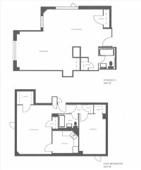 apartments floor plan studio c apartment layouts and one ...