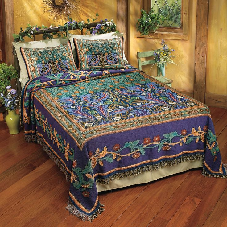Pyramid Collection Celtic Tree of Life Bedspread  Bed Set