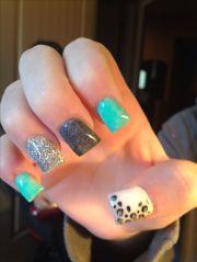 1000 ideas cheetah nail