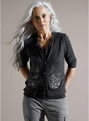 44 Best Images About Hairstyles For Women Over 60 Grey And