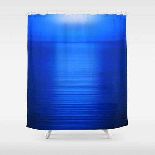 The 25 Best Ideas About Blue Shower Curtains On Pinterest Ocean