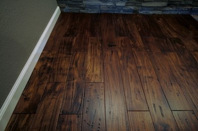 75 Hand Scraped Sonoma Acacia Hardwood Flooring for