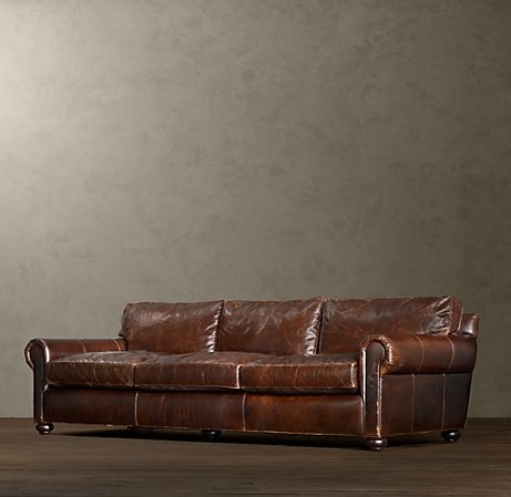 112 lancaster leather sofa reclining with drop down table 17 best ideas about distressed couch on pinterest ...