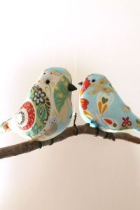 17+ best images about Fabric Birds to sew on Pinterest ...